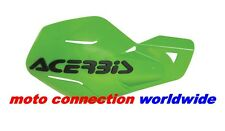 NEW ACERBIS UNIKO HANDGUARDS  GREEN FOR KAWASAKI KX85 KX125 KX250 2003