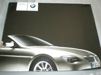 BMW 6 Series Convertible 645Ci brochure 2003 Ed 2