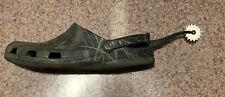 Croc Spur shoe charm. Spurs fit all adult Crocs. Very cool shoe accessory!!