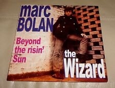 "Marc Bolan Wizard Beyond the Risin' Sun  7"" Psych Freakbeat NM w/ Picture Sleeve"