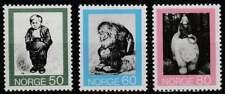 Noorwegen postfris 1972 MNH 652-654 - Volks Sprookjes