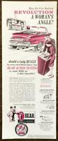 1967 Bear Safety Service Print Ad Has the Car Service Revolution a Womans Angle?