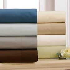 Luxury Percale Flat Sheet Plain Bed Sheet Non Iron Bedding Flat Bed Sheets