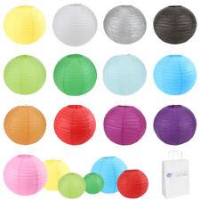 "5 pcs 6"" 8"" 10"" 12"" 14"" 16"" 18"" 20"" Chinese Paper Lantern Wedding Party Decor"