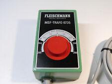 FLEISCHMANN 6735 MSF-Trafo Fahrregler, Transformator, 14V, 7,5VA o.OVP #1371