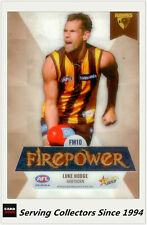2013 AFL Champions Firepower Mirror Card FM10 Luke Hodge (Hawthorn)