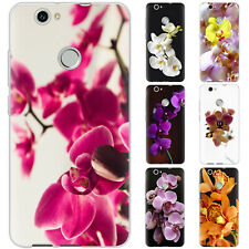 Dessana Orchids TPU Silicone Protective Cover Phone Case Cover For Huawei