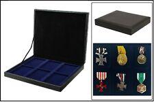 Safe 63730 nova de Luxe Sammelkassette Noir 6 cases Pour Militaria Ordre