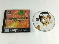 Jeu Playstation 1 PS1 VF  Ridge Racer Type 4  Envoi rapide et suivi