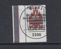BRD Mi-Nr. 1623 zentrisch gestempelt ESST - Bogenrand / Eckrand / Ecke 4