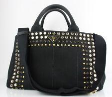 Prada Strass Bag, Schwarz, Damen, Original, Gebraucht, Strass, Logo