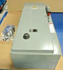 1 NEW SQUARE D 8538SDG COMBINATION STARTER 120V COIL SIZE 2 NEMA 1 3PH FUSED