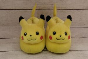 Vintage 2000 Pokemon PIKACHU Slippers  * Nintendo