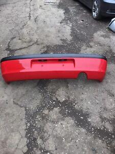 Ford Fiesta Mk5 Red Rear Bumper