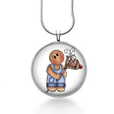Gingerbread with Horse Necklace - Cookie Gift - Gifts for Her - Jewelry