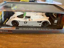 Spark 1:43 Porsche 962C Joest Racing Le Mans Test Day 16.5.1993 White #17