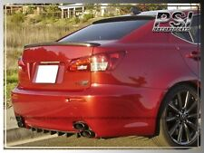 IS F Style Carbon Fiber Trunk Lip Spoiler for 06-13 Lexus IS250 IS350 Sedan 4Dr