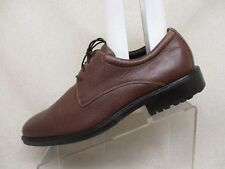 Cole Haan Brown Leather Oxford Dress Shoes Boots Mens Size 11 M Style C04982