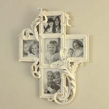 Cornici e portafoto da parete in legno bianco