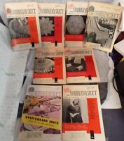 Lot of 8 The Workbasket Magazines May thru December 1959 Very Good Condition