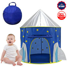 Outdoor Kid Girl Pop Up Ger Play Tent Princess Castle Playhouse Nursery House