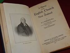 A HISTORY OF THE ENGLISH CHURCH IN NEW ZEALAND by H.T. Purchas HB 1914