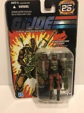 "Gi Joe Cobra Commander Armor 4"" Action Figure 2007 MOC 25th Anniversary Hasbro"