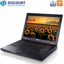 "Dell Latitude 14"" Laptop Computer Windows 10 PC Intel 4GB 250GB HD Wifi DVD"
