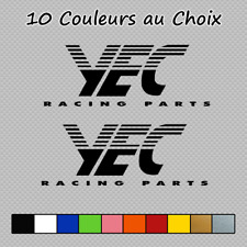 2 Stickers YEC Decal YEC01 Moto VTTs Yamaha Couleurs au choix