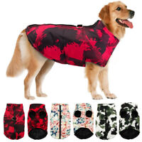 Large Dog Winter Coat Waterproof Pitbull Clothes for Big Dogs Pet Doggy Jacket