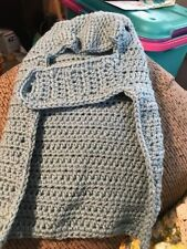 Medium dog sweater. Gray coloring. Good for a 9 to 15 pound dog.