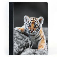 Cute Tiger Cub Animal Nature Tablet Leather Case Cover
