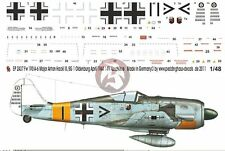 Peddinghaus 1/48 Fw 190 A-6 Markings Anton Hackl III./JG 11 Oldenburg 1944 2437