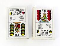 Spielkarten aus Tschechien-Spielkarten 32 Blatt Dvouhlave Hraci Karty Nr 84-