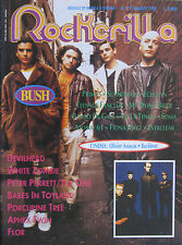 ROCKERILLA 177 1995 Bush One Babes In Toyland Porcupine Tree White Zombie Gene