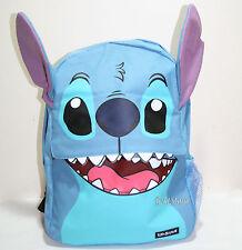 2016 Disney Loungefly Lilo & Stitch FACE Teeth Ears Backpack School Book Bag NEW