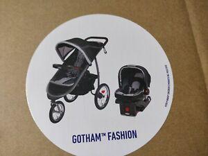 *NIB* Graco FastAction Fold Jogger Travel System Snugride 35, Gotham, MFD 09/20