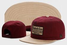 Hip Hop Men's CAYLER Sons Cap adjustable Baseball Snapback Street Red hat 449#