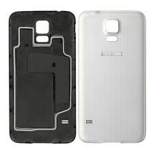 Shimmery White Genuine Battery Cover For Samsung Galaxy S5 G900F i9600