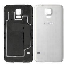 ORIGINALE Copribatteria posteriore per Samsung Galaxy S5 G900F i9600 Bianco Scintillante