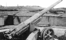 6x4 Photo ww8F6 Normandy D-Day Pdh Pointe Du Hoc Canon 155mm Gpf Encuvement