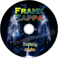 FRANK ZAPPA GUITAR BACKING TRACKS CD BEST OF GREATEST HITS MUSIC PLAY ALONG JAZZ