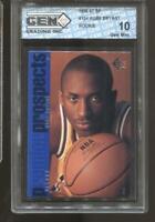 1996-97 Kobe Bryant SP #134 Gem Mint 10 RC Rookie LA Lakers MVP HOF