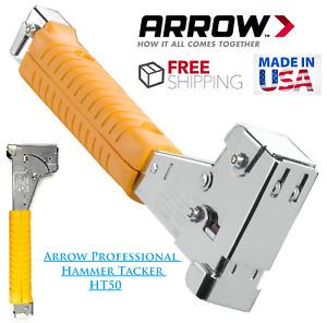Arrow HT50 Professional Hammer Tacker Lifetime Warranty
