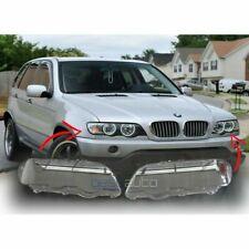 BMW X5 E53 Phare Verre Phare Verre Couvercle En Plastique PAIRE 1999-2003 NEUF
