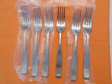 New listing 6 Mikasa Satin Loft 18/10 Stainless Steel Dinner Forks 8 1/4� New