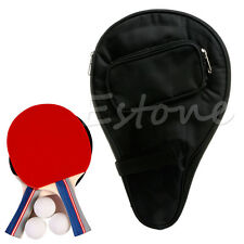 Pro tennis de table raquette case imperméable ping pong paddle bat ball bag hot