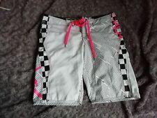 aa6602e976c Short de bain femme Roxy noir rose blanc Taille 40 Occasion Bon Etat