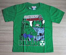 Marvel The Avengers Boys Girls Kids Cotton T Shirt Size 10 Age 6-8 #37 NEW