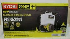 18-volt Lithium-ion Cordless 4 Gal. Backpack Chemical Sprayer-2.0 Battery/charge